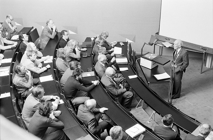 First Symposium at ESO HO, 1980