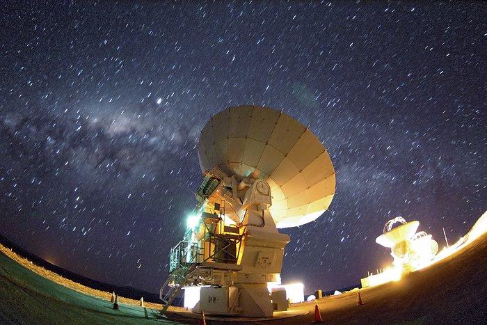 Milky Way above ALMA