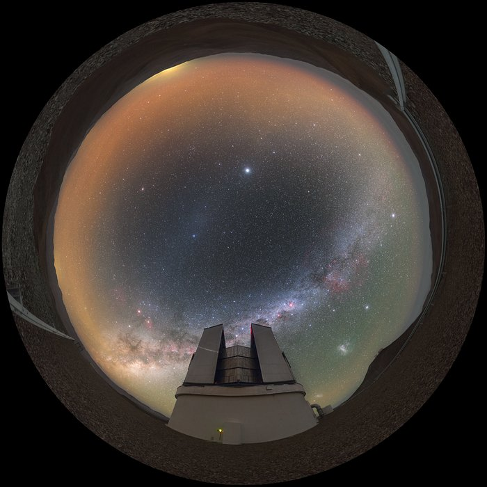 Fulldome of VISTA telescope
