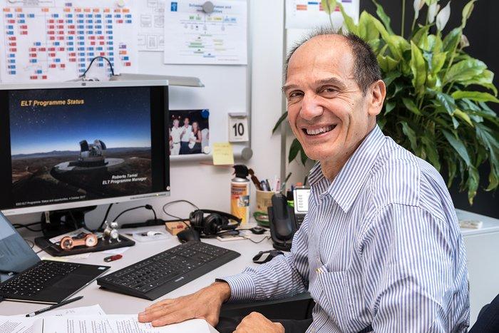 Roberto Tamai at ESO