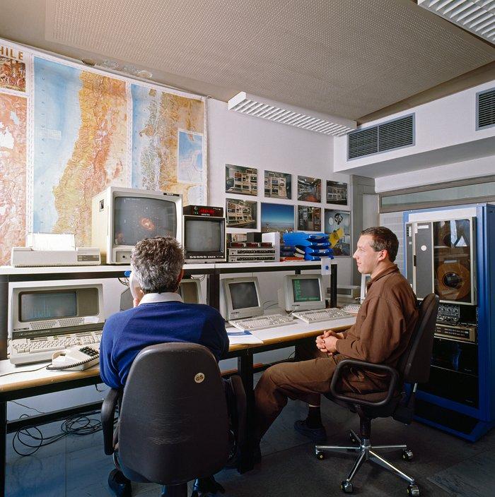 MPG/ESO 2.2-metre telescope remote control