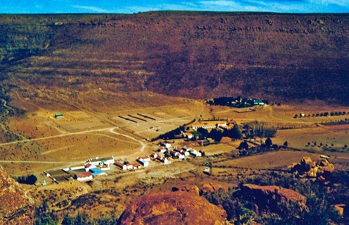 The Klaverlei Farm from air
