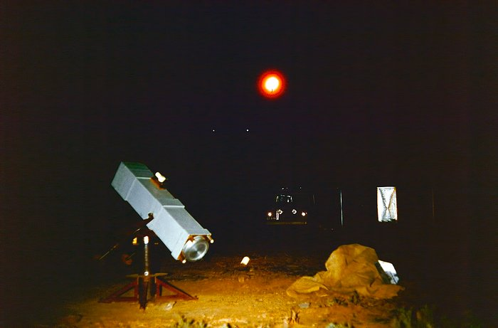 Observing at Rockdale mountain