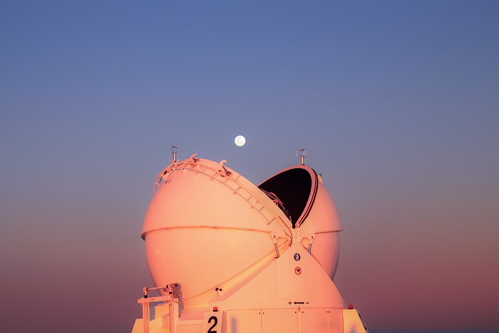 Pacman and the Moon