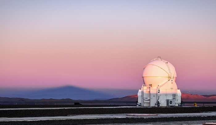Llullaillaco from Paranal