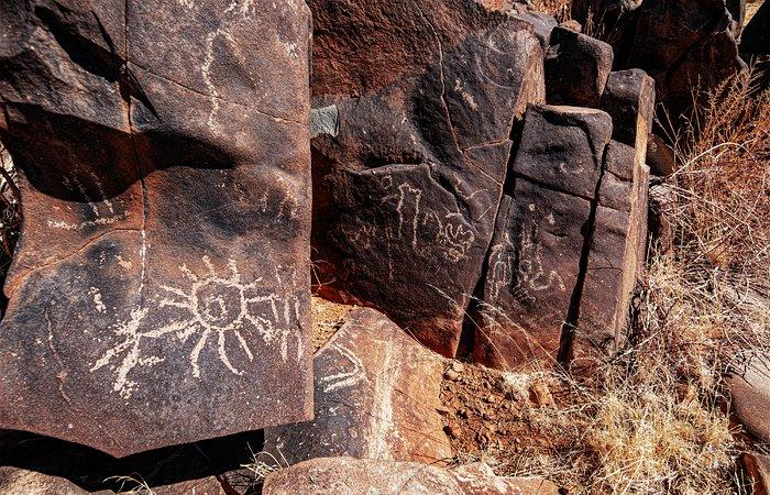 Desert rock art