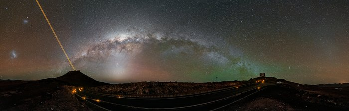 Milky Way leaps from the VLT to VISTA
