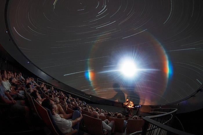 An audiovisual experience at the Supernova