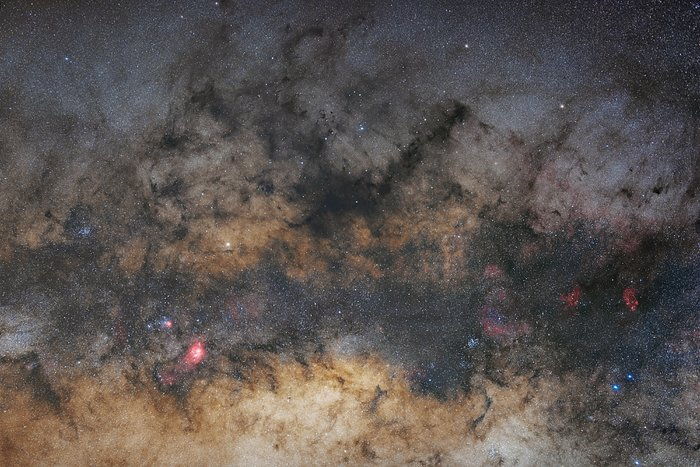 Milky Way central part