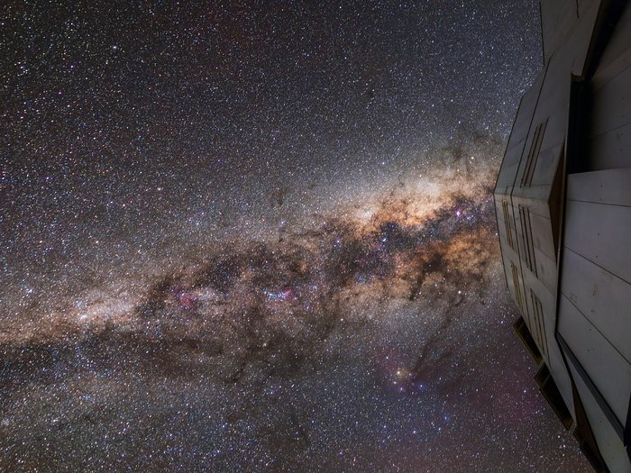 UT1 and the Milky Way