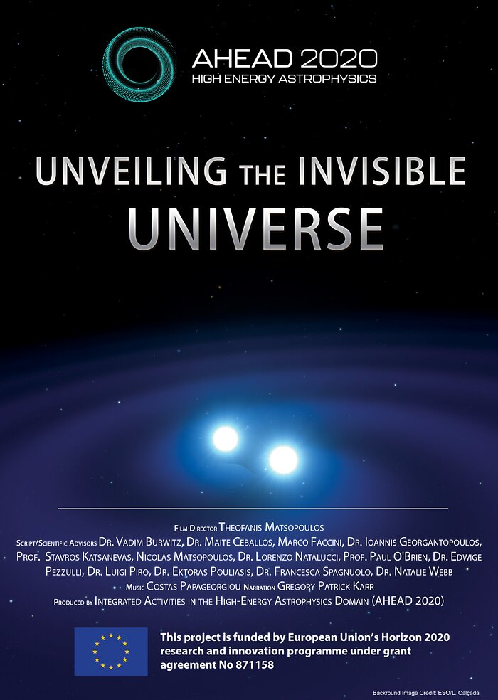 Unveiling the Invisible Universe — Poster