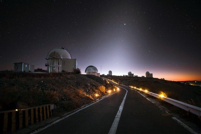 La Silla by night