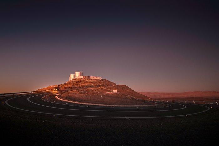Telescope on the mountain
