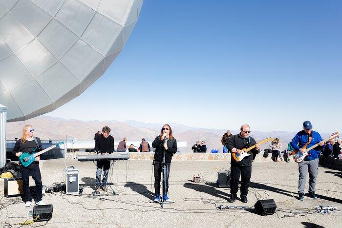 Concert at La Silla