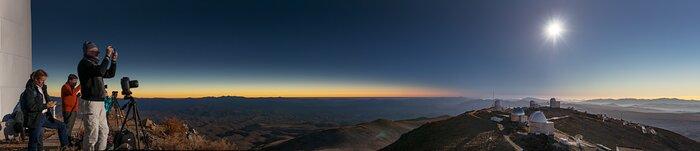 Panorama of La Silla