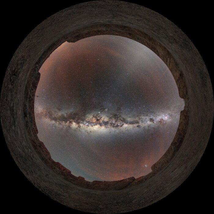 The Milky Way above Armazones