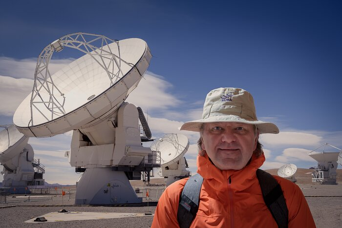 ESO's Director of Programmes Adrian Russell