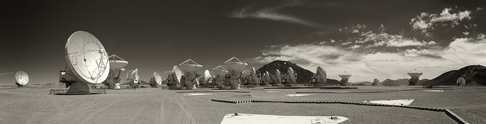 Panoramic View of ALMA Observatory