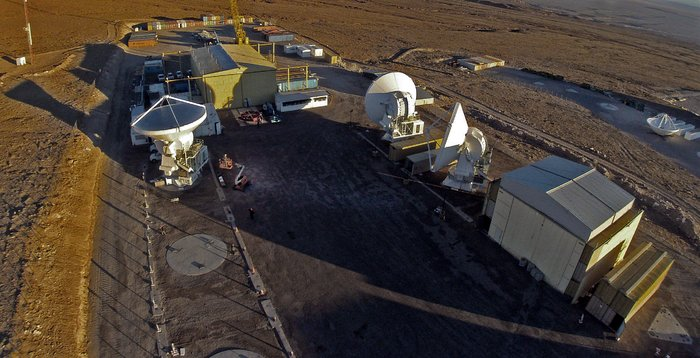 Last ALMA antenna handover