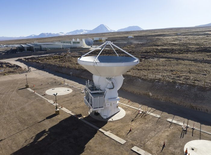 European ALMA antenna 22 accepted