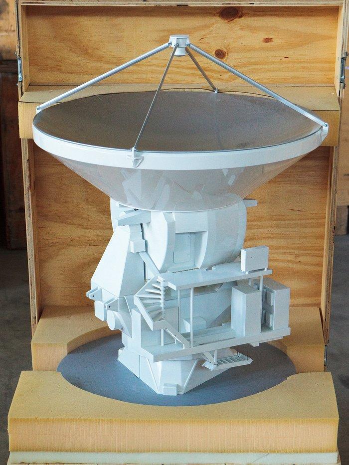 ALMA antenna model 01