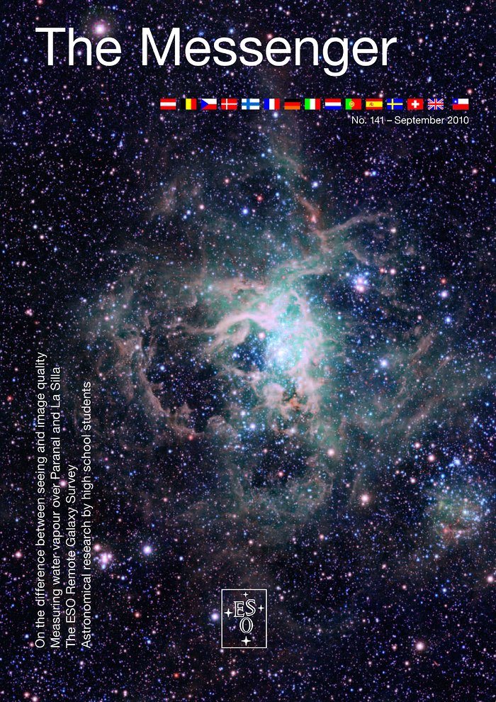 Cover of The Messenger No. 141