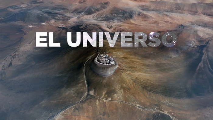 Screenshot from the HISTORY Channel's series of short stories featuring ESO telescopes
