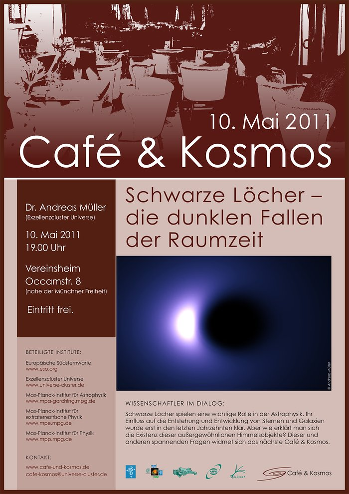 Café & Kosmos 10 May 2011 The dark traps of space-time