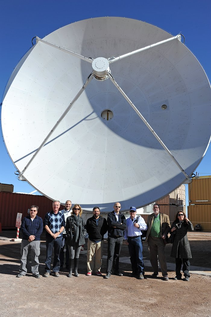 Spanish Minister for Science and Innovation Visits Paranal and ALMA