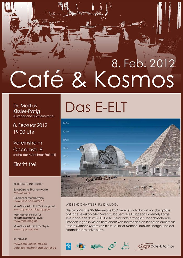 Poster of Café & Kosmos 8 February 2012