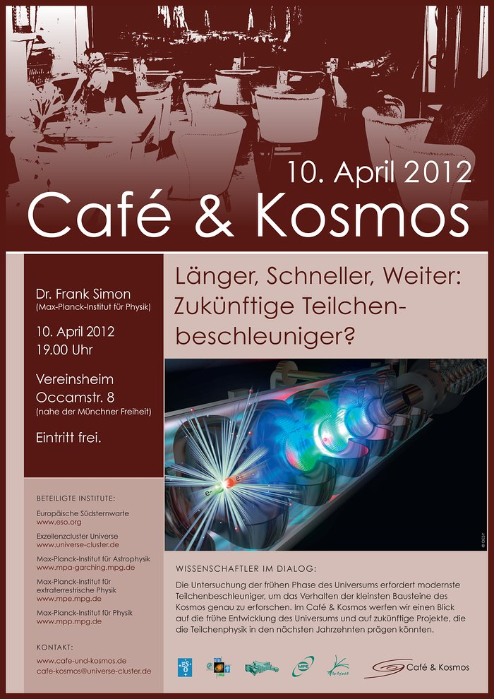Poster zu Café & Kosmos am 10. April 2012