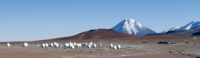 Halfway There: 33 ALMA Antennas on Chajnantor