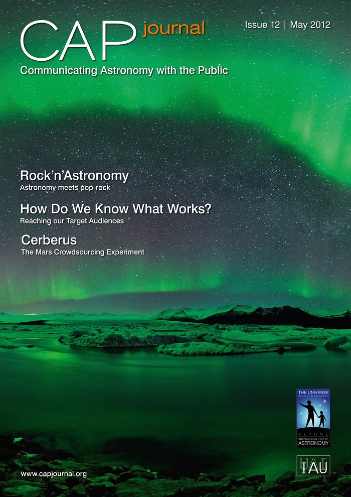 Cover of CAPjournal issue 12