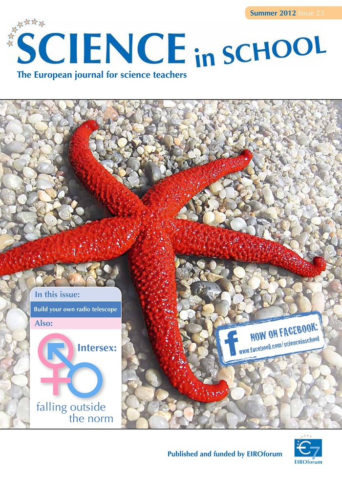 Science in School - Ausgabe 23 (Sommer 2012)