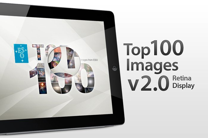 Version 2.0 der Top 100 Bilder-App der ESO