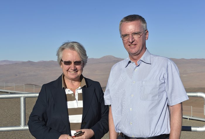 German Federal Minister for Education and Research visits ESO's Paranal Observatory