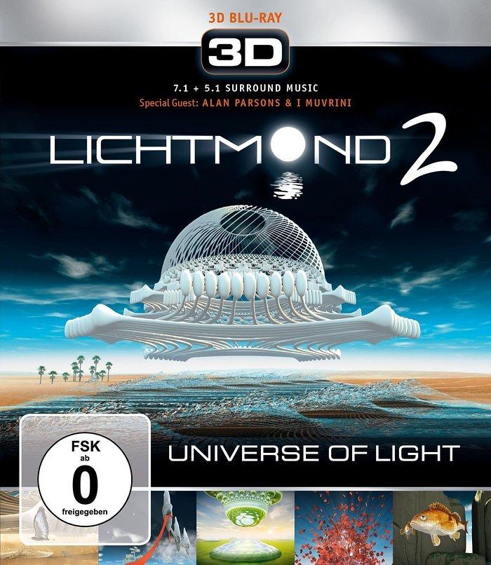 Portada de la edición en Blu Ray de Lichtmond 2: Universe of Light
