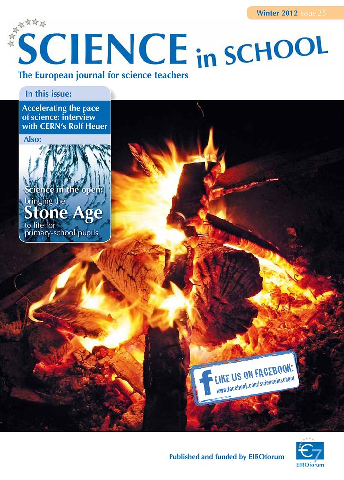 Science in School — Issue 25 — Winter 2012