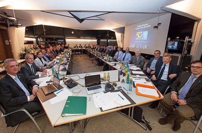 Der ESO-Council während seiner Sitzung am 4. Dezember 2012