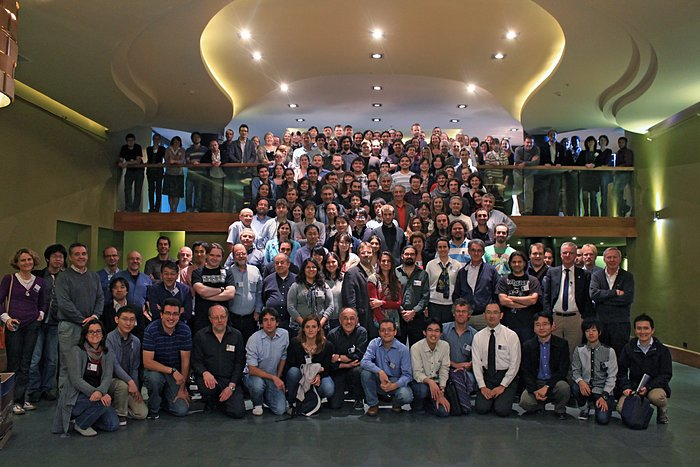 Участники научной конференции «Первый научный год ALMA» в Пуэрто Варас, Чили