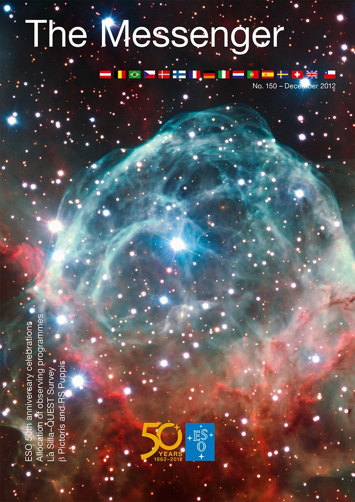Capa da Revista The Messenger Nº 150