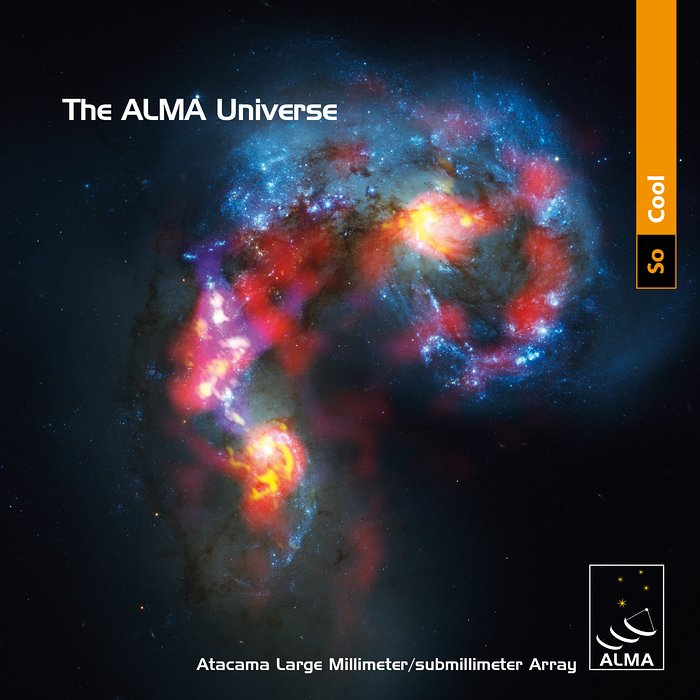 Capa da brochura The ALMA Universe