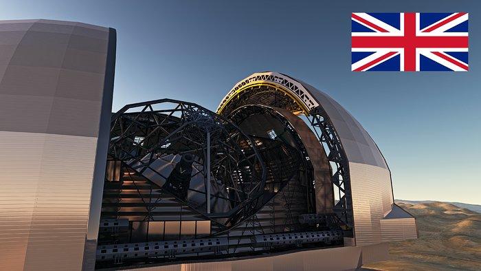 Reino Unido confirma participação no E-ELT