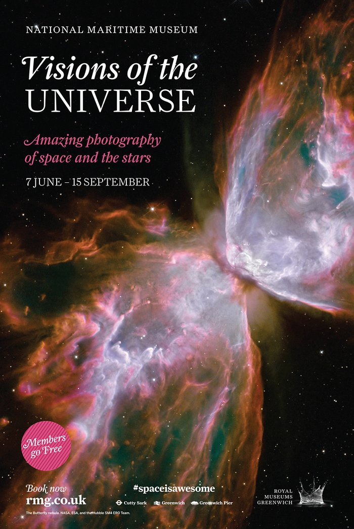 Visions of the Universe exhibition opens its doors