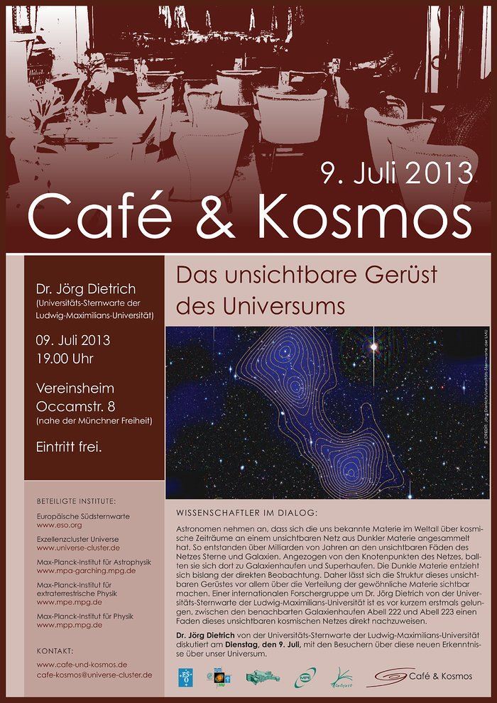 Café & Kosmos 9 July 2013
