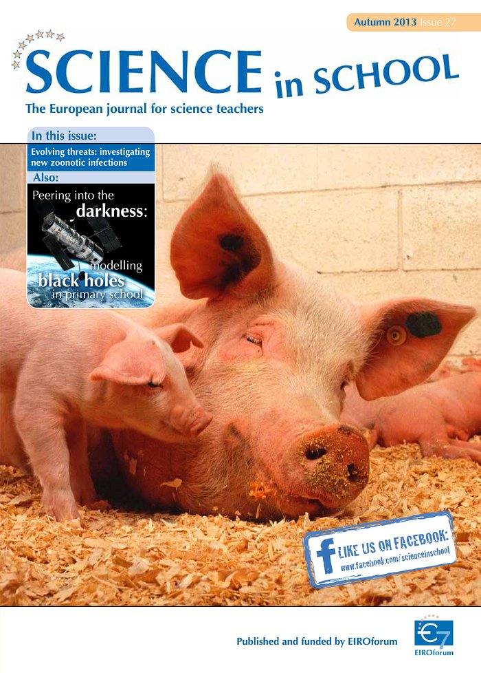 Science in School - Ausgabe 27 (Herbst 2013)
