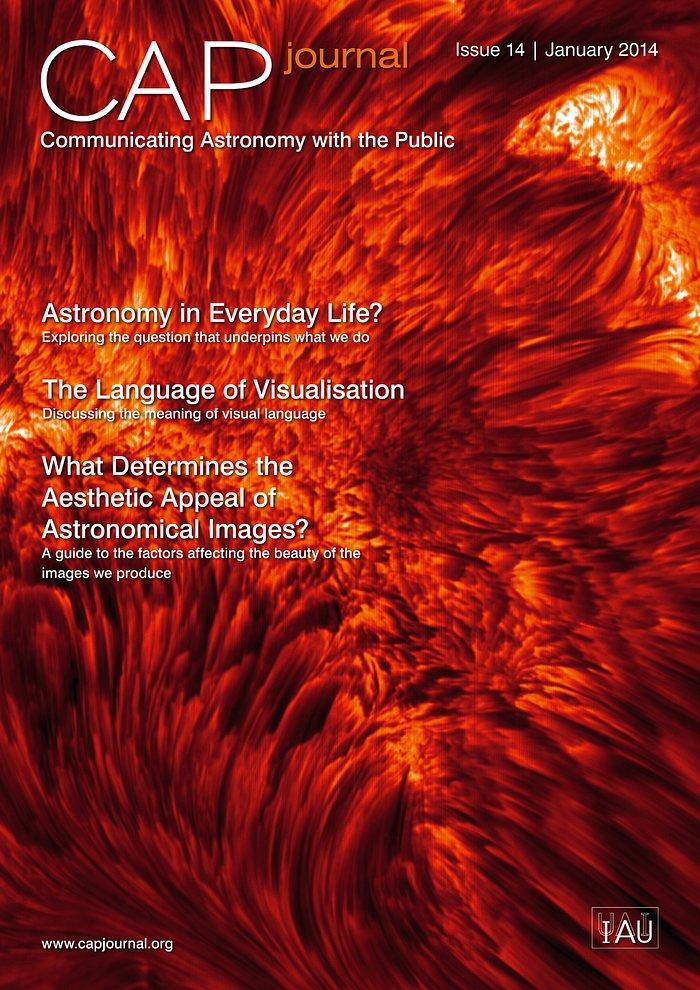 Capa da 14ª edição da revista CAP