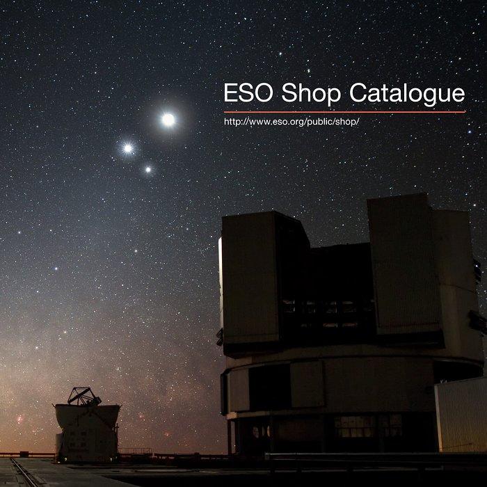 Catálogo da loja do ESO
