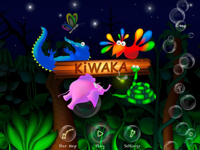 Screenshot der Kiwaka-App