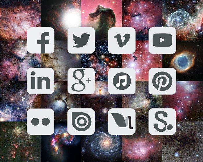 ESO on social media